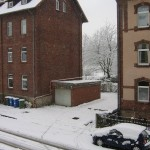 Wintereinbruch in Göttingen